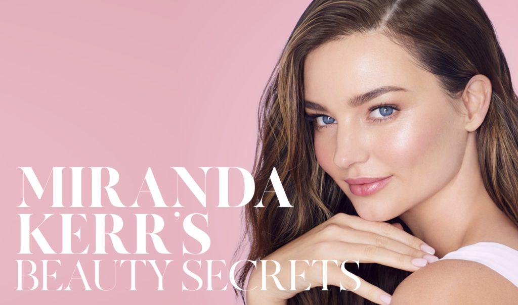 Banner TopTalk - Miranda Kerr's Beauty Secrets - THE SUSTAINABLE ISSUE