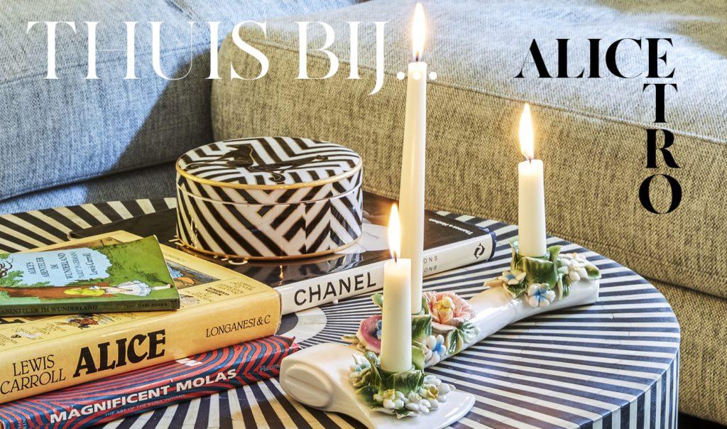 Banner TopTalk - Thuis bij Alice Etro - THE SUSTAINABLE ISSUE