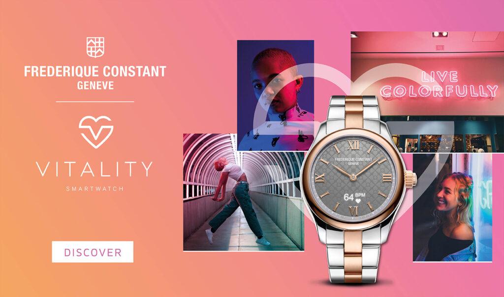 Frederique Constant Geneve Vitality Smartwatch